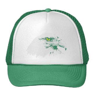 American Bald Eagle Trucker Hat (green)