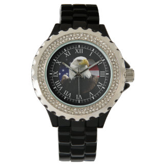 american bald eagle wrist watch