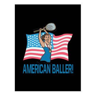 American Baller Postcard
