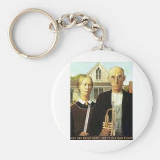 American Band Nerds Keychain