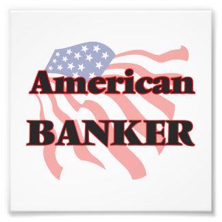 American Banker Photo Print