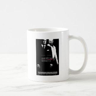 American Banksta Basic White Mug