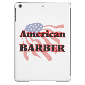American Barber Cover For iPad Air