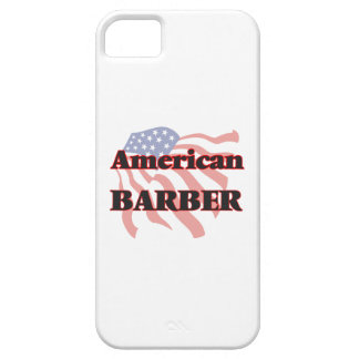 American Barber iPhone 5 Covers