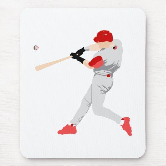 American Baseball Player Mouse Mat