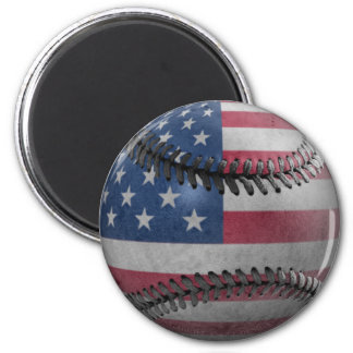 American Baseball Refrigerator Magnet