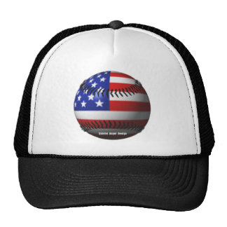 American Baseball Trucker Hats