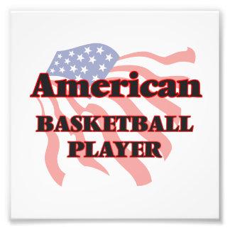 American Basketball Player Photographic Print