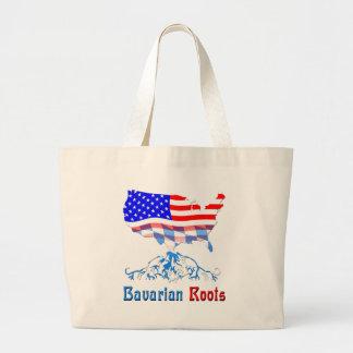 American Bavarian Roots Jumbo Tote Bag