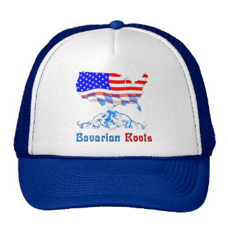American Bavarian Roots Trucker Hat