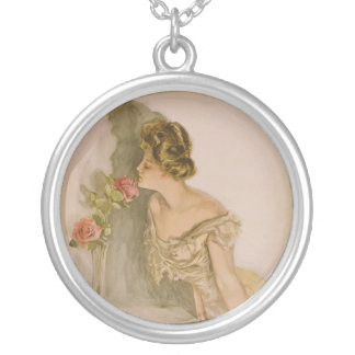 American Beauties by Harrison Fisher Pendant