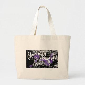 american beauty jumbo tote bag