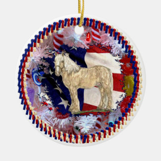 American Beauty Ornament