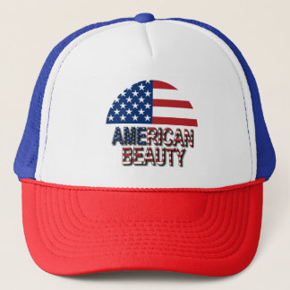 American Beauty Trucker Hat
