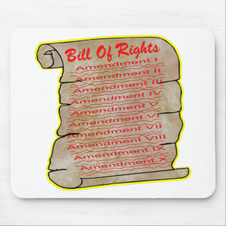American Bill Of Rights Mouse Pad