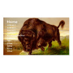 American Bison Business Cards