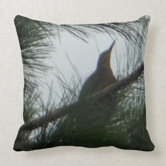 American Bittern Bird Cushion