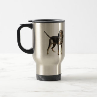 American Black and Tan Coon Hound Stainless Steel Travel Mug