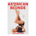 AMERICAN BLONDE poster