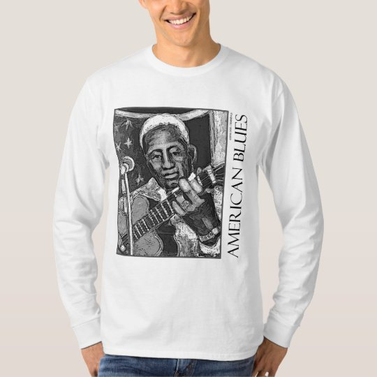 American Blues - Lead Belly - T-Shirt