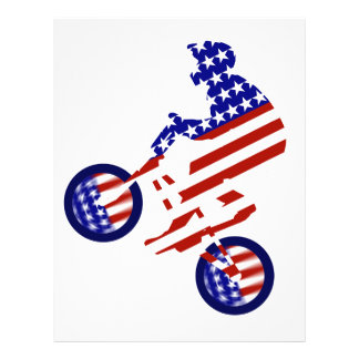 American BMX Rider Full Color Flyer