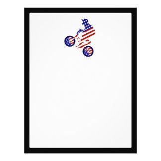 American BMX Rider Custom Flyer