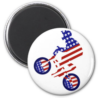 American BMX Rider Fridge Magnets