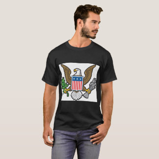 American Bold Eagle National Symbol T-Shirt. T-Shirt
