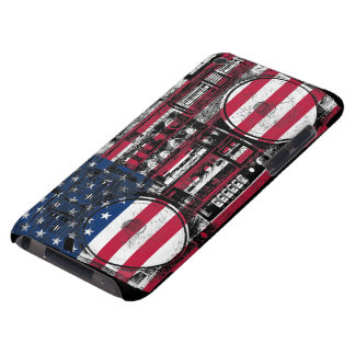 american boombox iPod touch case