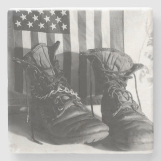 American Boots Coaster