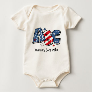 American Born Cutie Baby Bodysuit