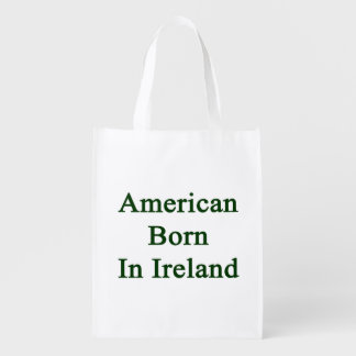 American Born In Ireland