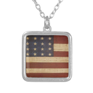 American Boy Silver Plated Necklace