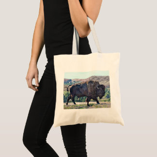 American Buffalo Bison Tote Bag