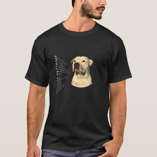 American Bulldog Attributes T-Shirt