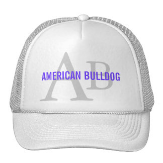 American Bulldog Breed Monogram Cap