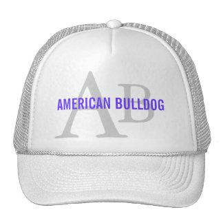 American Bulldog Breed Monogram Hats