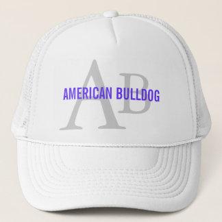 American Bulldog Breed Monogram Trucker Hat