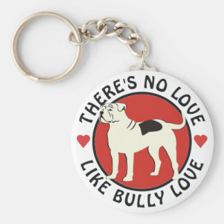 American Bulldog - Bully Love Key Ring