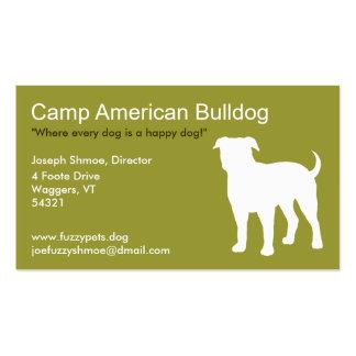 American Bulldog Pack Of Standard Business Cards