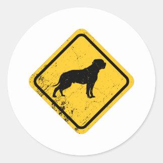 American Bulldog Classic Round Sticker