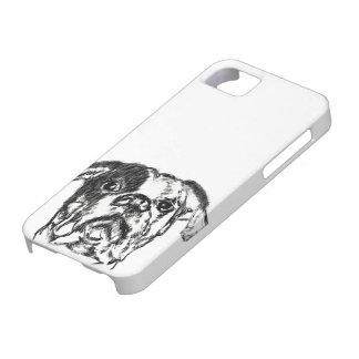 American Bulldog Sketch iPhone 5 Covers