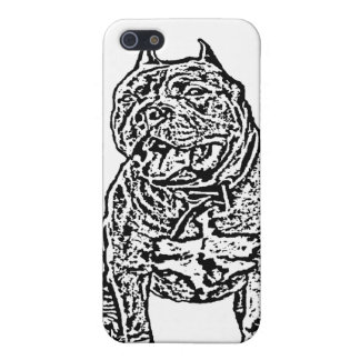 American Bully dog Hard Shell Case for iPhone 4/4S iPhone 5 Cases