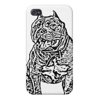 American Bully dog Hard Shell Case for iPhone 4/4S