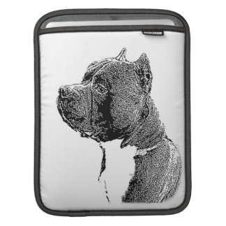 American Bully Dog ipad sleeve