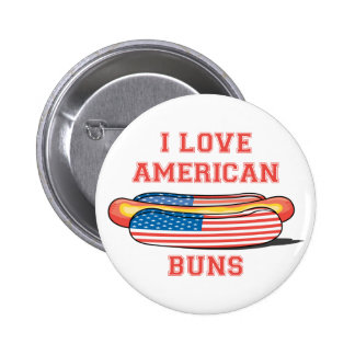 American Buns 6 Cm Round Badge