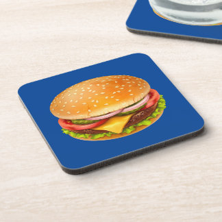 American Burger Coasters (set of 6)