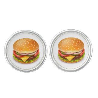 American Burger Cufflinks