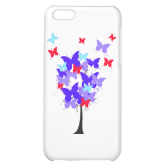 American Butterfly Tree Cover For iPhone 5C