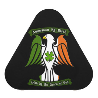 American by Birth, Irish by the Grace of God Eagle Bluetooth Speaker